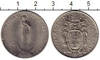 Изображение Монеты Европа Ватикан 1 лира 1936 Медно-никель UNC-