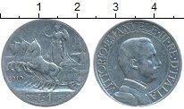 Изображение Монеты Италия 1 лира 1910 Серебро VF