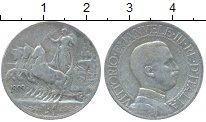Изображение Монеты Европа Италия 1 лира 1909 Серебро VF