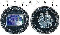 Изображение Монеты Швейцария Медаль 2000 Медно-никель Proof