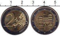Изображение Монеты Европа Германия 2 евро 2017 Биметалл UNC-