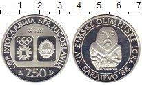 Изображение Монеты Европа Югославия 250 динар 1983 Серебро Proof