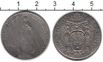 Изображение Монеты Ватикан 1 лира 1934 Медно-никель XF