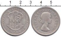 Изображение Монеты Африка ЮАР 2 шиллинга 1954 Серебро VF