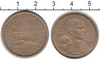 Изображение Монеты Северная Америка США 1 доллар 2000 Латунь XF