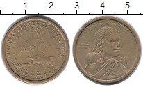 Изображение Монеты США 1 доллар 2000 Латунь XF