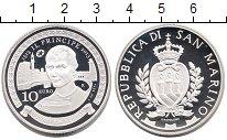 Изображение Монеты Европа Сан-Марино 10 евро 2013 Серебро Proof