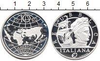 Изображение Монеты Европа Италия 10 евро 2011 Серебро Proof-