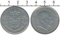 Изображение Монеты Дания 5 крон 1968 Медно-никель XF Фредерик IX
