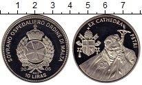 Изображение Монеты Европа Мальтийский орден 10 лир 2005 Медно-никель Proof