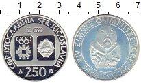Изображение Монеты Европа Югославия 250 динар 1983 Серебро Proof-