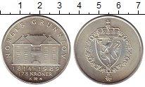 Изображение Монеты Европа Норвегия 175 крон 1989 Серебро UNC