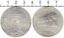 Изображение Монеты Северная Америка США 1 доллар 1994 Серебро UNC
