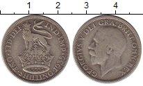 Изображение Монеты Великобритания 1 шиллинг 1935 Серебро VF