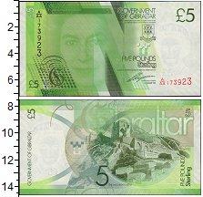 Изображение Банкноты Гибралтар 5 фунтов 2011  UNC