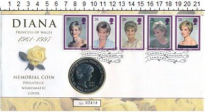 Изображение Подарочные монеты Европа Великобритания 5 фунтов 1999 Медно-никель UNC