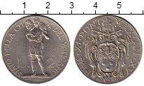 Изображение Монеты Европа Ватикан 2 лиры 1936 Медно-никель XF
