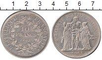 Изображение Монеты Европа Франция 10 франков 1967 Серебро UNC-