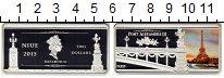 Изображение Монеты Новая Зеландия Ниуэ 2 доллара 2015 Серебро Proof