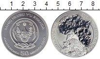 Изображение Монеты Африка Руанда 50 франков 2019 Серебро UNC