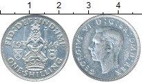 Изображение Монеты Европа Великобритания 1 шиллинг 1946 Серебро XF-
