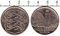 Изображение Монеты Европа Эстония 2 кроны 1991 Медно-никель UNC