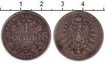 Изображение Монеты Германия 1 марка 1873 Серебро XF F