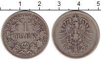 Изображение Монеты Европа Германия 1 марка 1881 Серебро VF