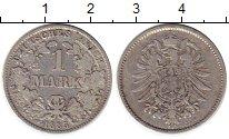 Изображение Монеты Европа Германия 1 марка 1885 Серебро VF
