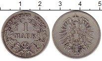 Изображение Монеты Германия 1 марка 1886 Серебро VF