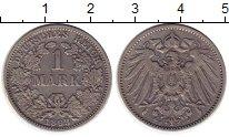 Изображение Монеты Европа Германия 1 марка 1893 Серебро VF