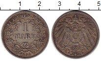 Изображение Монеты Германия 1 марка 1896 Серебро VF G
