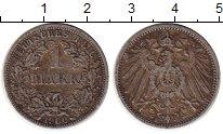 Изображение Монеты Европа Германия 1 марка 1900 Серебро VF