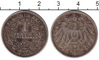 Изображение Монеты Европа Германия 1 марка 1903 Серебро VF