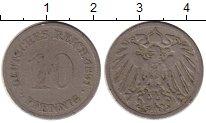 Изображение Монеты Европа Германия 10 пфеннигов 1891 Медно-никель VF
