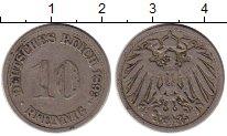 Изображение Монеты Германия 10 пфеннигов 1893 Медно-никель VF