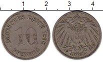 Изображение Монеты Европа Германия 10 пфеннигов 1898 Медно-никель VF