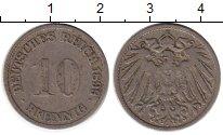 Изображение Монеты Германия 10 пфеннигов 1899 Медно-никель VF G