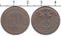 Изображение Монеты Европа Германия 10 пфеннигов 1899 Медно-никель VF