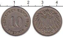 Изображение Монеты Европа Германия 10 пфеннигов 1906 Медно-никель VF