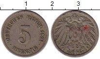 Изображение Монеты Европа Германия 5 пфеннигов 1894 Медно-никель VF