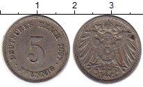 Изображение Монеты Европа Германия 5 пфеннигов 1897 Медно-никель VF