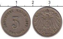 Изображение Монеты Европа Германия 5 пфеннигов 1898 Медно-никель VF