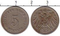 Изображение Монеты Германия 5 пфеннигов 1903 Медно-никель VF