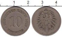 Изображение Монеты Европа Германия 10 пфеннигов 1889 Медно-никель VF