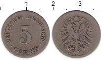 Изображение Монеты Европа Германия 5 пфеннигов 1876 Медно-никель VF