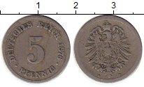 Изображение Монеты Германия 5 пфеннигов 1876 Медно-никель VF
