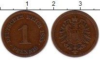 Изображение Монеты Германия 1 пфенниг 1889 Бронза VF