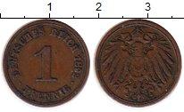 Изображение Монеты Германия 1 пфенниг 1892 Бронза VF