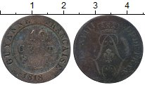 Изображение Монеты Гайана 10 центов 1818 Биллон VF